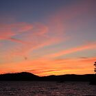 Lake of Bays Sunset by Karyn Boehmer