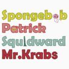 Experimental Spongebob by oneskillwonder
