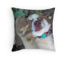no pictures please! Throw Pillow