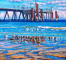 Jetty Rust - Glenelg by Jacky Murtaugh