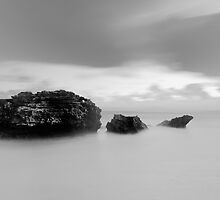 Rocks - Pt Lonsdale Victoria by Graeme Buckland