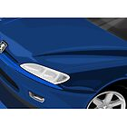 Peugeot 406 Coupe Illustration by Autographics