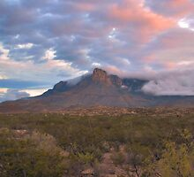 Guadalupe Mountains At Dawn by Stephen Vecchiotti