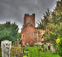 The Brick Church Ruins Stanmore by Chris Thaxter