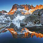 Iceberg Lake Sunrise by Nolan Nitschke