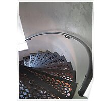 Lighthouse Stairwell Poster