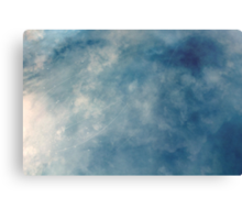hit me like a ray of sun  Canvas Print