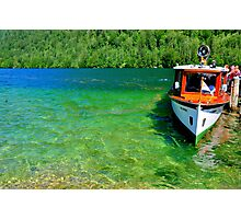 Fresh and green water Photographic Print