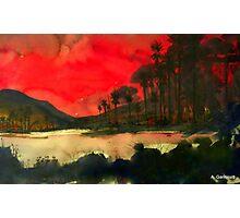 Pacific Sunset Photographic Print
