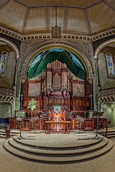 St Michael's Uniting Church • Melbourne • Australia  by William Bullimore