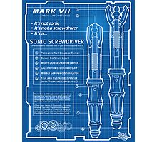 "Sonic Screwdriver ""Mark VII"" Poster Photographic Print"