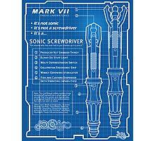"Sonic Screwdriver ""Mark VII"" Poster Photographic Print"