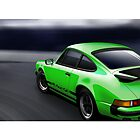 Porsche 911 Carrera Illustration by Autographics