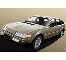 Rover SD1 3500 Illustration by Autographics