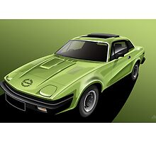 Triumph TR7 Illustration by Autographics