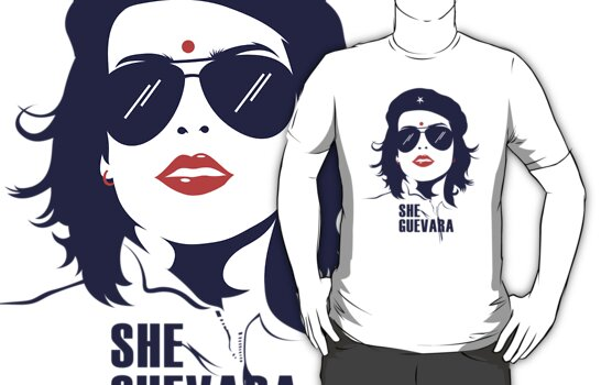 She Guevara by tshirtbaba