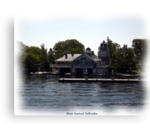 St. Lawrence Seaway/Thousand Islands #1 Canvas Print
