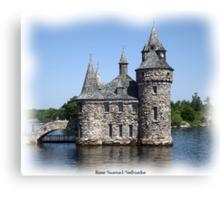 St. Lawrence Seaway/Thousand Islands #11 - Boldt Castle Canvas Print