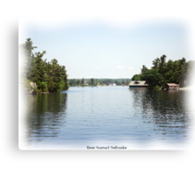 St. Lawrence Seaway/Thousand Islands #19 Canvas Print