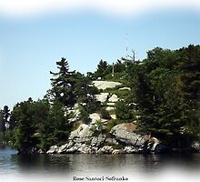 St. Lawrence Seaway/Thousand Islands #28 by Rose Santuci-Sofranko