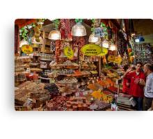 Turkey. Istanbul. Spice Market. Canvas Print