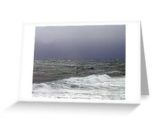Only The Ocean Greeting Card