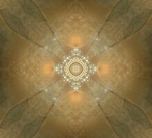 Vajra Heart by Craig Hitchens - Spiritual Digital Art