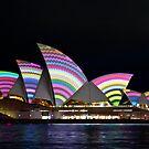 Vivid Opera House by Nicole Wells