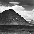 Buachaille Etive Mor And The Pass Of Glencoe by Kevin Skinner
