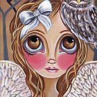 &quot;Owl Angel&quot; by Jaz Higgins