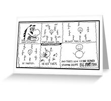 xkcd : eXtra Kilo Calorie Diet Greeting Card