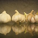 ---There is no such thing as a little garlic... by Gregoria  Gregoriou Crowe