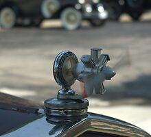 1931 Model A Ford Radiator Cap Propeller by TeeMack