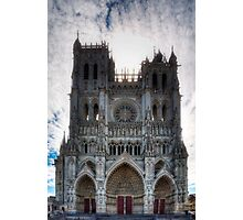 Amiens Cathedral, Somme, France Photographic Print