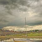 Storm clouds over Blakeney by Chris Thaxter