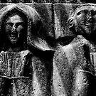 Double-effigy tomb, Knocktopher, County Kilkenny, Ireland by Andrew Jones