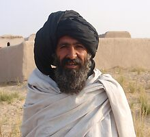 Afghani Farmer by David Durkin