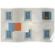 Italian House Poster