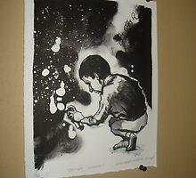 """""""dondi white' lithograph, 1/12, 2010 by michaelmiller"""