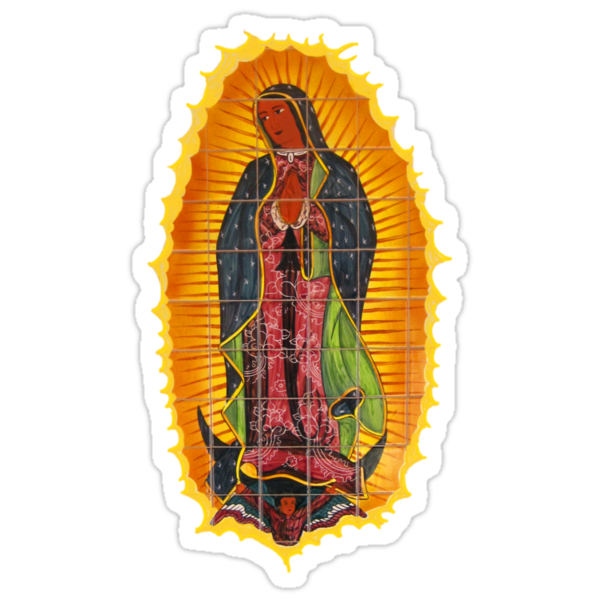 Lady of Guadalupe t and iPhone case by DAdeSimone