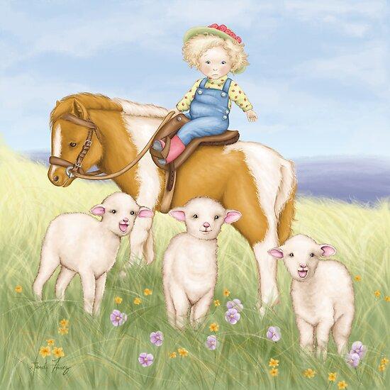 Little Lambs by amalou
