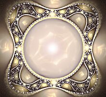 Pearl Brooch by Pam Amos