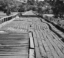 Old Gundagai Rail Bridge by kbairdphotos