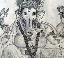 Lord Ganesha by Biru