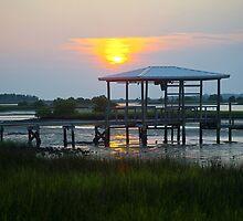 Still Sunset by Rick  Bender