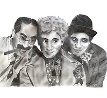 Marx Brothers by axemangraphics