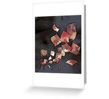 Swept Greeting Card