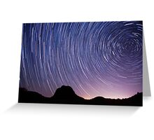 Path of the Stars Greeting Card