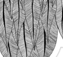 Feather Shield Sticker
