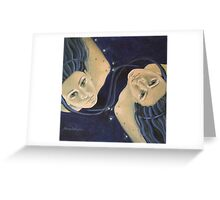 """""""Gemini""""...from """"Zodiac signs"""" series Greeting Card"""